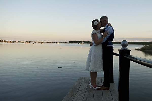 Wedding at the Christchurch Harbour Hotel
