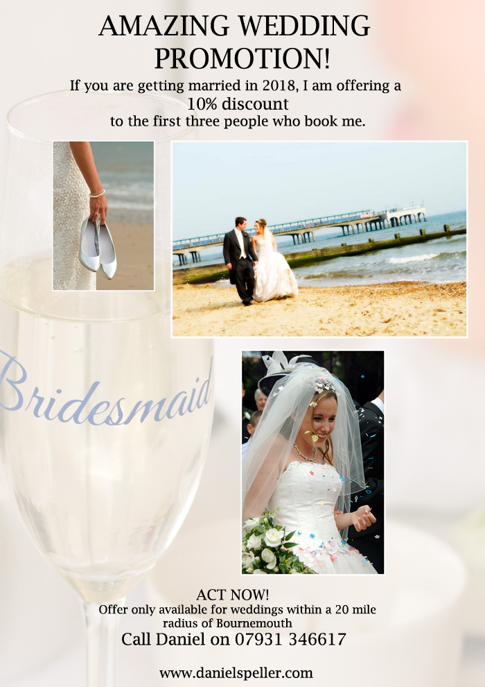 save money on wedding photography bournemouth