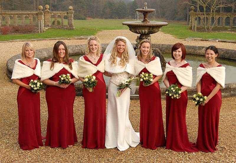 Bridesmaid Dresses For Christmas Wedding