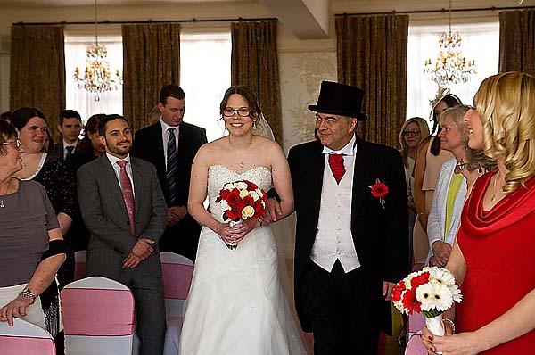 "Alt=""Ocean View Hotel wedding photo"""