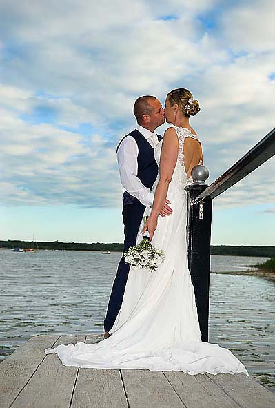 "alt=""christchurch harbour hotel wedding photo"""