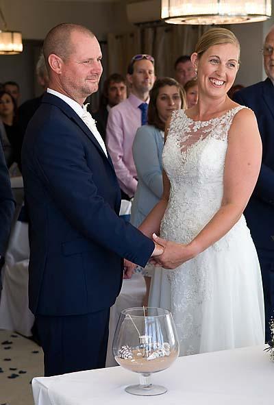 """wedding ceremony photos bournemouth"""