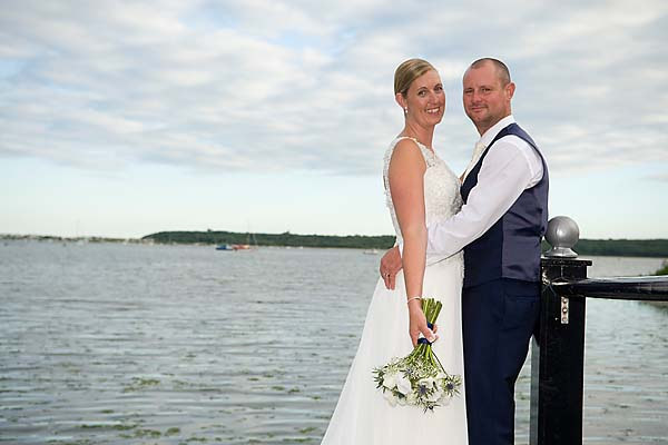 """christchurch harbour hotel wedding photos"""