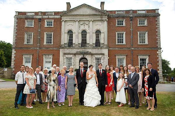 "alt=""Merley house wedding group photo"""