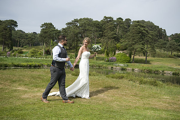 "alt=""romantic weddig photo parkstone golf club"""