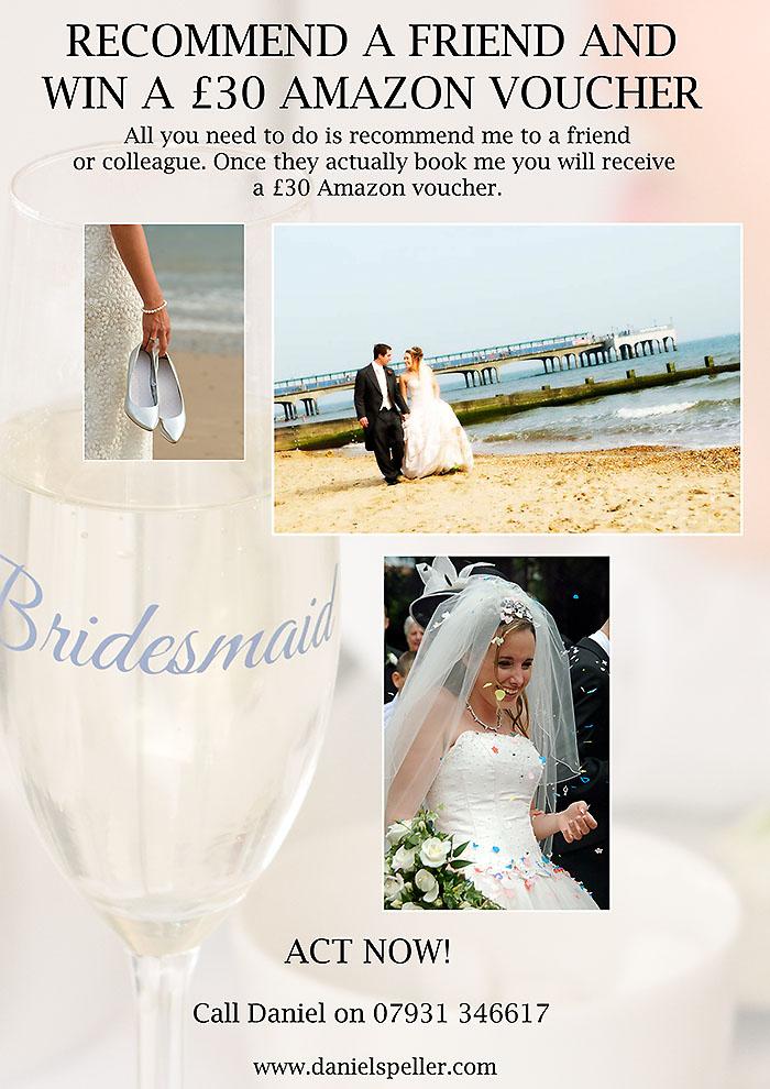 Amazon voucher wedding promotion