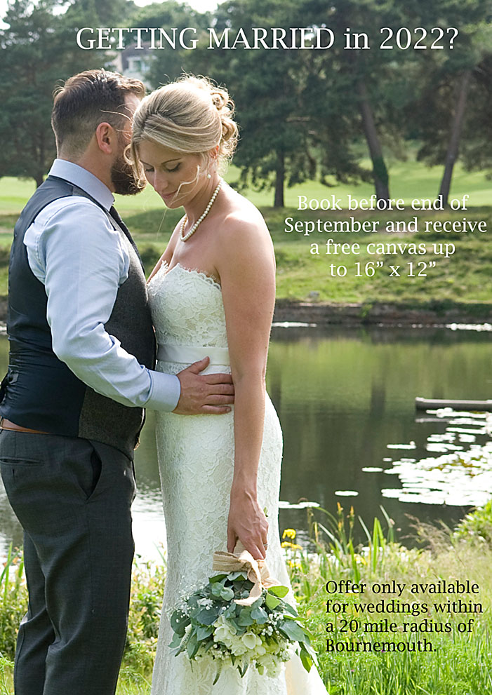 wedding photography offers bournemouth
